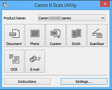 Ij Scan Utility Canon Pixma Mp237